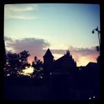Olsztyn sunset